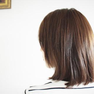 ピンクブラウン 外国人風 ショコラブラウン ナチュラル ヘアスタイルや髪型の写真・画像