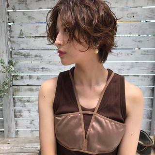 秋 色気 透明感 夏 ヘアスタイルや髪型の写真・画像