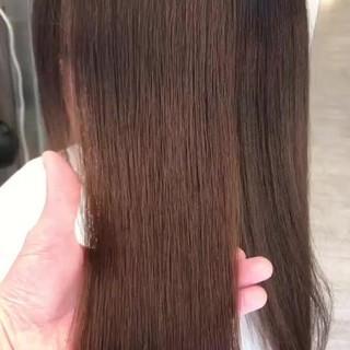 最新トリートメント ロング 髪質改善 デート ヘアスタイルや髪型の写真・画像