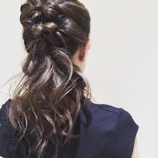 ルーズ 結婚式 二次会 ヘアアレンジ ヘアスタイルや髪型の写真・画像