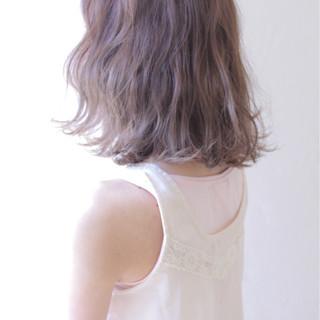 ボブ フェミニン ゆるふわ 春 ヘアスタイルや髪型の写真・画像
