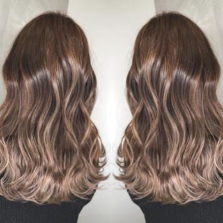 外国人風カラー 簡単ヘアアレンジ アンニュイほつれヘア ミディアム ヘアスタイルや髪型の写真・画像 ヘアスタイルや髪型の写真・画像