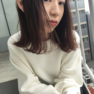 パーマ 色気 大人女子 透明感 ヘアスタイルや髪型の写真・画像