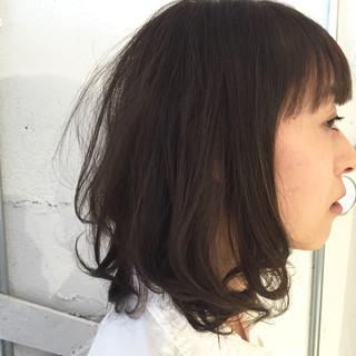 ラフ 透明感 ナチュラル アンニュイ ヘアスタイルや髪型の写真・画像