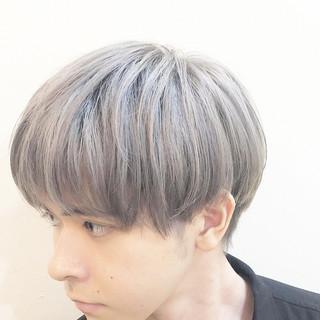 メンズ ショート ハイライト グラデーションカラー ヘアスタイルや髪型の写真・画像 ヘアスタイルや髪型の写真・画像