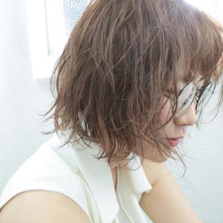 パーマ 大人かわいい ゆるふわ 前髪あり ヘアスタイルや髪型の写真・画像