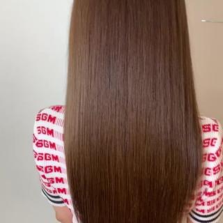 髪質改善トリートメント 美髪 エレガント 最新トリートメント ヘアスタイルや髪型の写真・画像