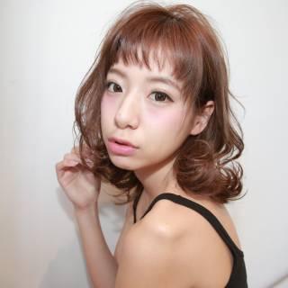 パンク ウェットヘア ミディアム ストリート ヘアスタイルや髪型の写真・画像