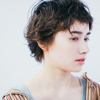 ブラウン ウェーブ リラックス 外国人風カラー ヘアスタイルや髪型の写真・画像