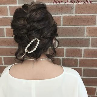 ミルクティー 大人女子 アッシュ ヘアアレンジ ヘアスタイルや髪型の写真・画像