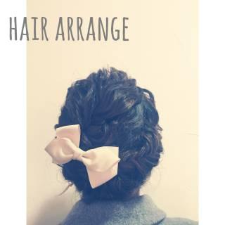 フィッシュボーン ヘアアレンジ まとめ髪 編み込み ヘアスタイルや髪型の写真・画像