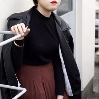 ストリート 大人かわいい 外国人風 かっこいい ヘアスタイルや髪型の写真・画像