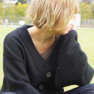 ショート デート 簡単ヘアアレンジ 黒髪 ヘアスタイルや髪型の写真・画像