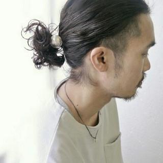 刈り上げ 黒髪 パーマ かっこいい ヘアスタイルや髪型の写真・画像