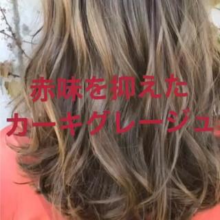ゆるふわ ミディアム ヘアアレンジ 秋 ヘアスタイルや髪型の写真・画像