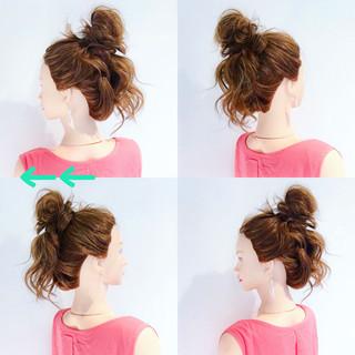 ロング デート ヘアアレンジ 女子会 ヘアスタイルや髪型の写真・画像