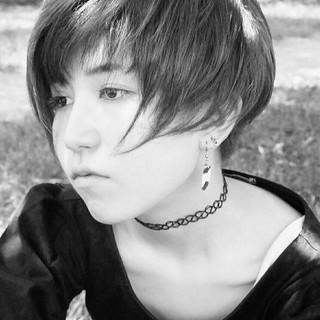 モード ベリーショート 坊主 ショート ヘアスタイルや髪型の写真・画像