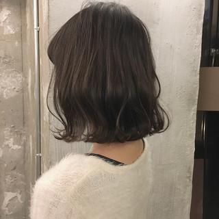 ミディアム 謝恩会 オフィス ヘアアレンジ ヘアスタイルや髪型の写真・画像