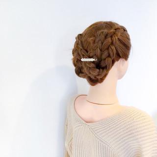 エレガント 上品 デート 着物 ヘアスタイルや髪型の写真・画像