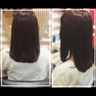 髪質改善カラー 髪質改善 艶髪 ナチュラル ヘアスタイルや髪型の写真・画像 ヘアスタイルや髪型の写真・画像