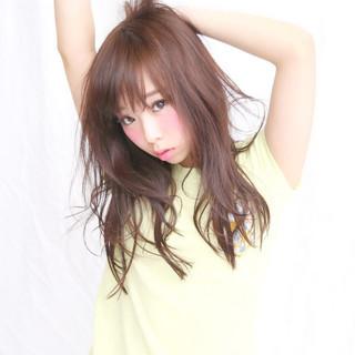 前髪あり おフェロ ナチュラル かわいい ヘアスタイルや髪型の写真・画像 ヘアスタイルや髪型の写真・画像