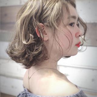 ミニボブ 外ハネボブ 色気 ボブ ヘアスタイルや髪型の写真・画像