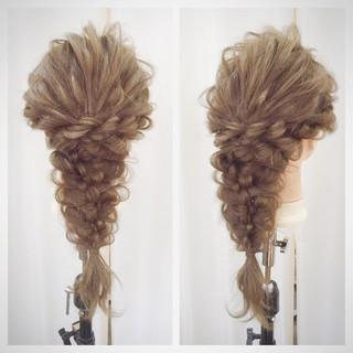 結婚式 ナチュラル ヘアアレンジ ロング ヘアスタイルや髪型の写真・画像 ヘアスタイルや髪型の写真・画像