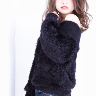 ニュアンス 大人女子 小顔 グレージュ ヘアスタイルや髪型の写真・画像