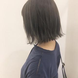 透明感 大人かわいい ナチュラル 秋 ヘアスタイルや髪型の写真・画像