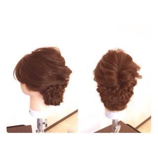 ヘアアレンジ 前髪あり 簡単ヘアアレンジ ショート ヘアスタイルや髪型の写真・画像