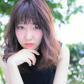 ピンク 大人かわいい 外国人風カラー イルミナカラー ヘアスタイルや髪型の写真・画像