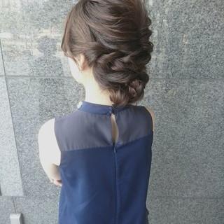 ヘアアレンジ ハーフアップ ナチュラル 簡単ヘアアレンジ ヘアスタイルや髪型の写真・画像 ヘアスタイルや髪型の写真・画像