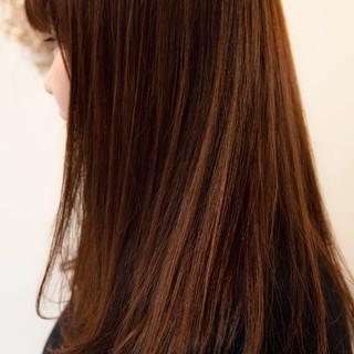 ハイライト コントラストハイライト グレージュ 大人ハイライト ヘアスタイルや髪型の写真・画像