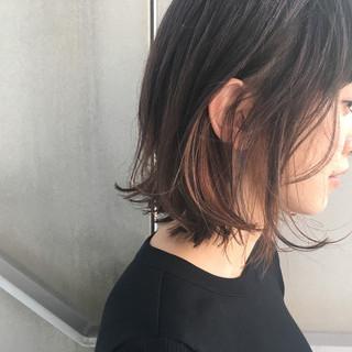 ストリート ボブ 外国人風 ダブルカラー ヘアスタイルや髪型の写真・画像