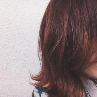 ストリート 秋 レッド 外国人風 ヘアスタイルや髪型の写真・画像