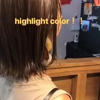 デート スポーツ ミディアム オフィス ヘアスタイルや髪型の写真・画像
