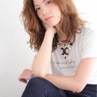 ストリート モテ髪 かっこいい ガーリー ヘアスタイルや髪型の写真・画像