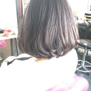 透明感カラー 透明感 ボブ 圧倒的透明感 ヘアスタイルや髪型の写真・画像