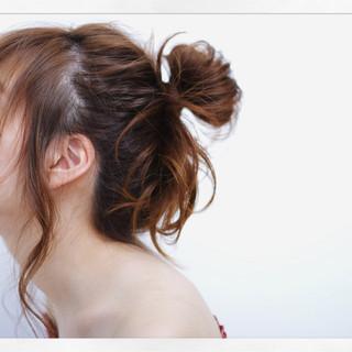 ヘアアレンジ 大人かわいい 簡単ヘアアレンジ 愛され ヘアスタイルや髪型の写真・画像