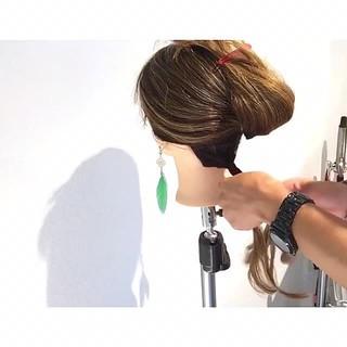 女子会 デート ロング オフィス ヘアスタイルや髪型の写真・画像