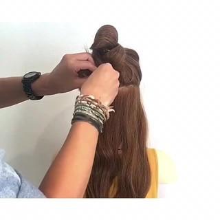 色気 女子会 涼しげ 夏 ヘアスタイルや髪型の写真・画像