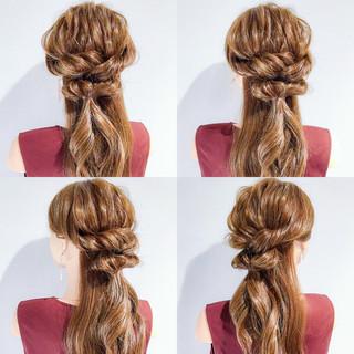 エレガント 色気 アウトドア ロング ヘアスタイルや髪型の写真・画像