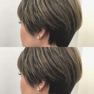 ふんわりショート ショート ショートヘア ストリート ヘアスタイルや髪型の写真・画像 ヘアスタイルや髪型の写真・画像