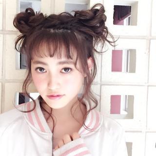 簡単ヘアアレンジ ピュア ヘアアレンジ 外国人風 ヘアスタイルや髪型の写真・画像