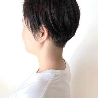 モード ハンサムショート ショート ショートヘア ヘアスタイルや髪型の写真・画像