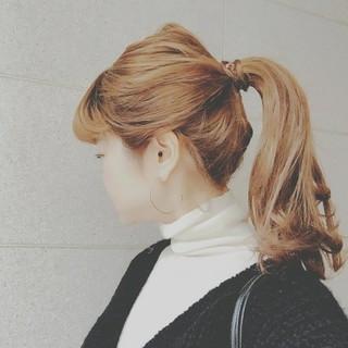 デート 大人かわいい ナチュラル ゆるふわ ヘアスタイルや髪型の写真・画像