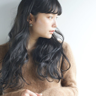 秋 ロング 透明感 ナチュラル ヘアスタイルや髪型の写真・画像