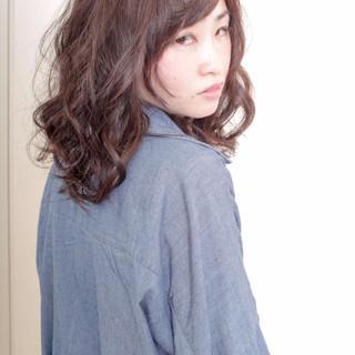 大人かわいい ゆるふわ ピュア ガーリー ヘアスタイルや髪型の写真・画像