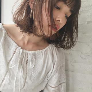 くせ毛風 ガーリー パーマ 抜け感 ヘアスタイルや髪型の写真・画像 ヘアスタイルや髪型の写真・画像