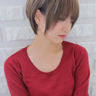 ボブ 小顔 田中美保 こなれ感 ヘアスタイルや髪型の写真・画像